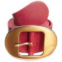 Anna Field Gürtel red mit weißgoldener Schnalle
