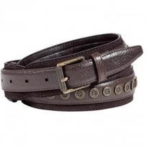 Belstaff Mahogany Studded Hopton Belt