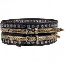 Belstaff Military Multicolor Studded Hope Belt