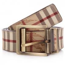 Burberry Belt Check Chocolate 110 cm