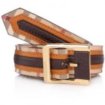 Burberry Belt Chocolate Check 85cm