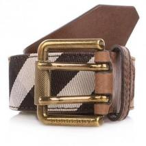 Burberry Belt Vintage Washed Check 100cm