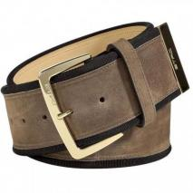 Etro Milk Chocolate Suede Belt
