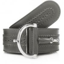 Gucci Cintura Horsebit Grey 80cm