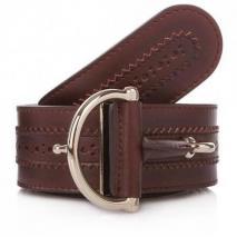 Gucci Cintura Horsebit Grey 95cm