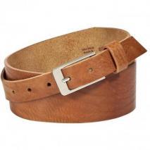Maison Martin Margiela Cognac Silver Buckle Belt