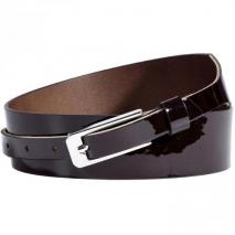 Maison Martin Margiela Dark Chocolate Patent Belt