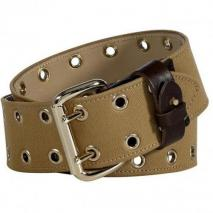 McQ Alexander McQueen Heavy Military Cotton Eyelet Belt