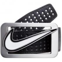 Nike Golf Square Perforated Reversible Gürtel black/white