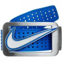 Nike Golf Square Perforated Reversible Gürtel photo blue/white