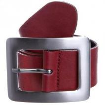 Vanzetti Gürtel rot aus weichem Leder