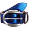 Vanzetti Metallic-Gürtel blau