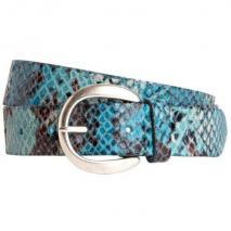 Vanzetti Python-Gürtel blau