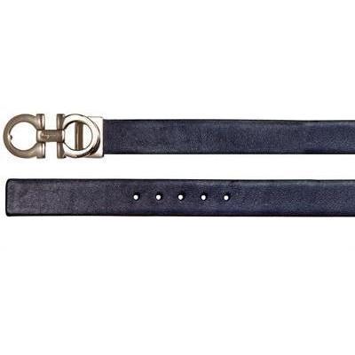 Salvatore Ferragamo 2.5cm Umkehrbarer Gürtel aus Lackleder