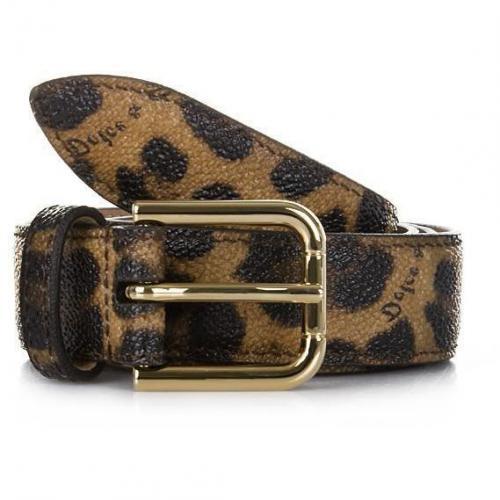 Cintura Asta Dritta Crespo Leo 85cm von Dolce&Gabbana
