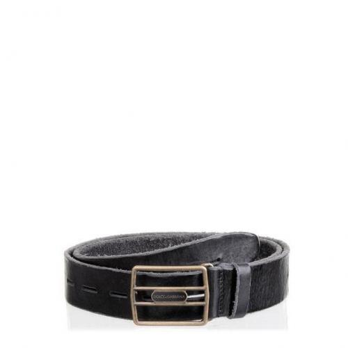 Gürtel Black von Dolce & Gabbana